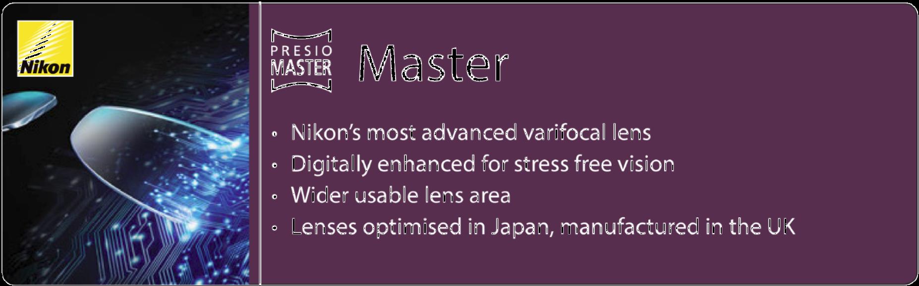Nikon 1. Presio Master