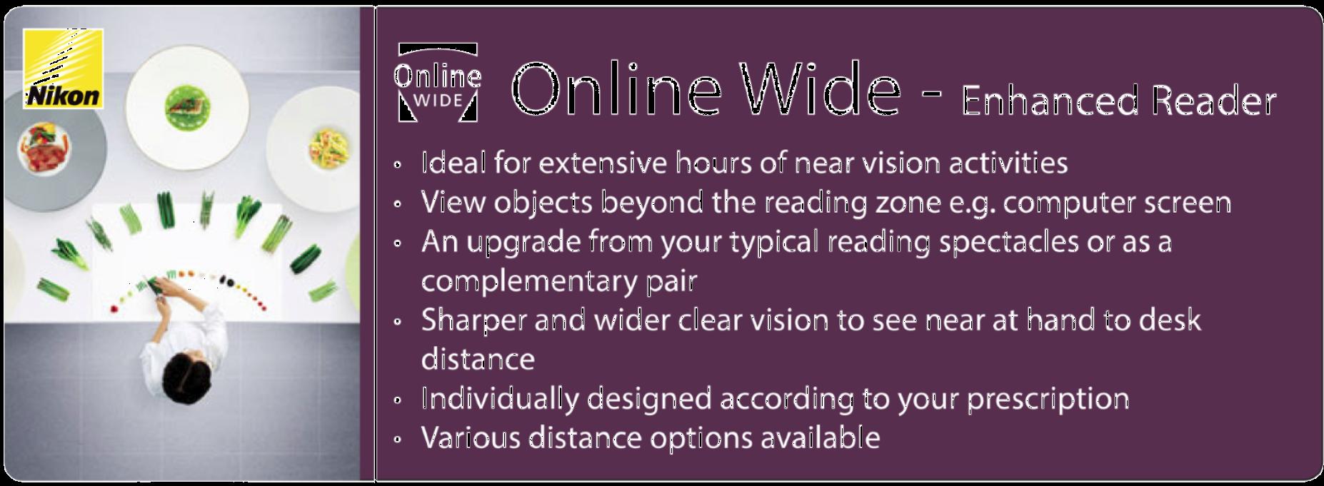 Nikon 5. Online Wide - Enhanced Reader
