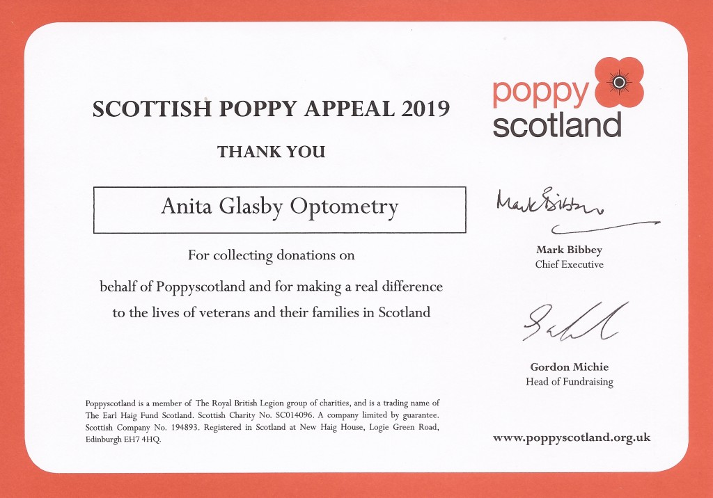 Poppy Scotland Thanks 2019